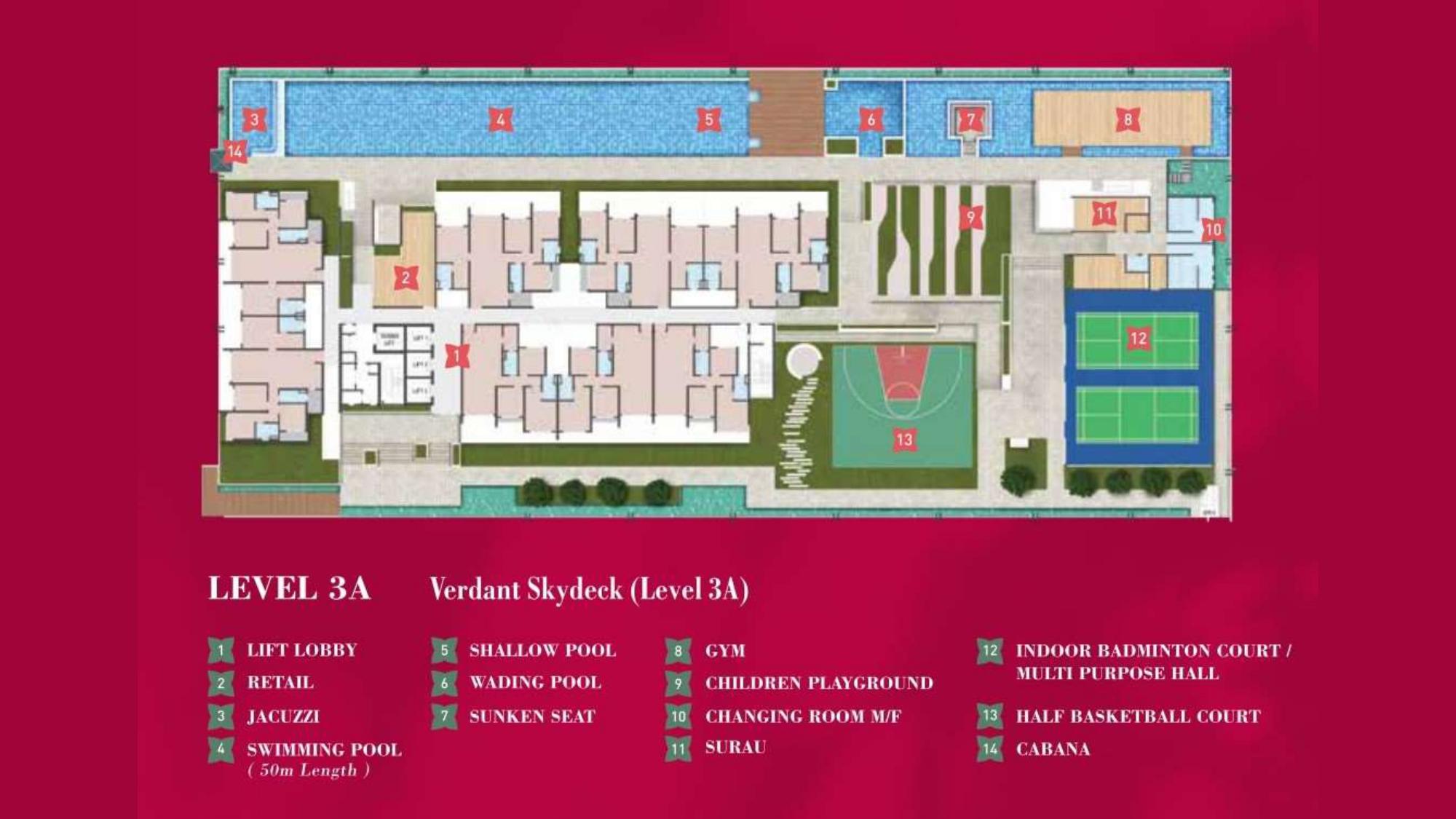 4. Ixora Residence Cheras_Facilities_Level 3A