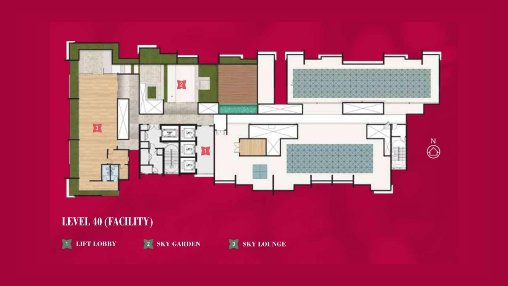 4. Ixora Residence Cheras_Facilities_Level 40