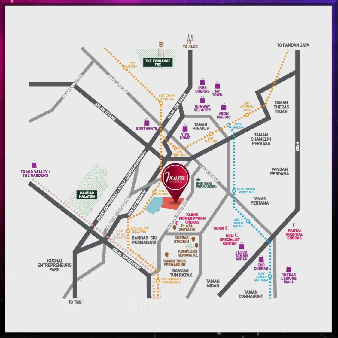 Ixora Residence_Location
